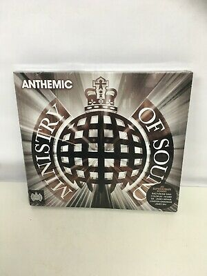 ANTHEMIC Ministry of Sound 2x CD  Album Brand New and Sealed. Freepost In Uk