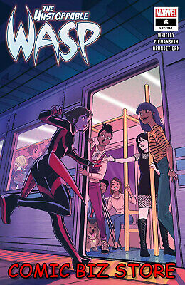 Unstoppable Wasp #6 (2019) 1St Printing Bagged & Boarded Marvel Comics