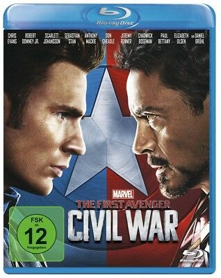 THE FIRST AVENGER: CIVIL WAR (Chris Evans) Blu-ray Disc NEU+OVP