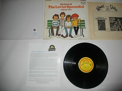 The Lovin' Spoonful Best of Vol 2 1968 EXC 1st Analog Press ULTRASONIC Clean