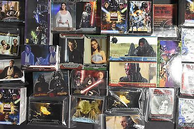 Star Wars Trading Cards Base & Chase Sets From Many Rare Releases