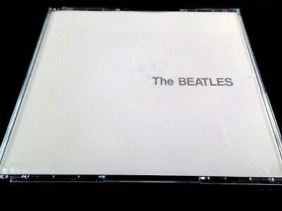 THE BEATLES  -  THE WHITE ALBUM  2 x CD  FATBOX CASE WITH BOOKLET   *VG*
