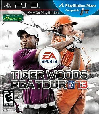 Tiger Woods PGA Tour 13 (Sony PlayStation 3, 2012) PS3 BRAND NEW SEALED