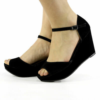 zapatos chica talla 38 negro black shoes ropa mujer