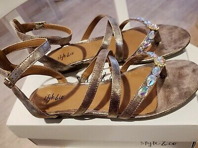 014abd7ebb4a2 STYLE & CO. Womens Bahara Open Toe Casual Strappy Sandals - $12.00 ...