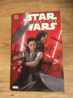 Star Wars Last Jedi Marvel Whitta Walsh NEW Paperback
