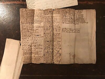 Rare Collection Scottish Documents 17th 18th Century Historic 1688 earliest
