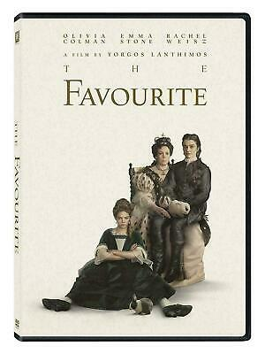 THE FAVOURITE (DVD, 2019) New! Free Shipping