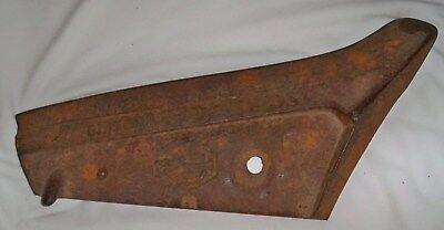 Oliver Plow Share Cast Iron Rusty Rustic Barn Farm Antique Farm Implement