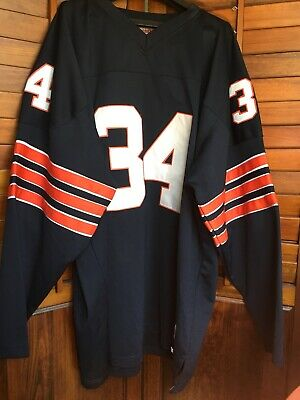 fe863fcf7a0 Walter Payton 34 Authentic Mitchell & Ness Chicago Bears 1985 Jersey Sz 54