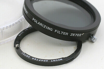 Used Mamiya ZE702 Swing Out Polarizing Filter With AN701 Mount Adapter