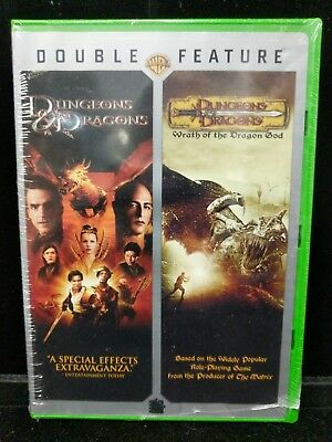 New Sealed Dungeons & Dragons & Dungeons & Dragons: Wrath of the Dragon God DVD
