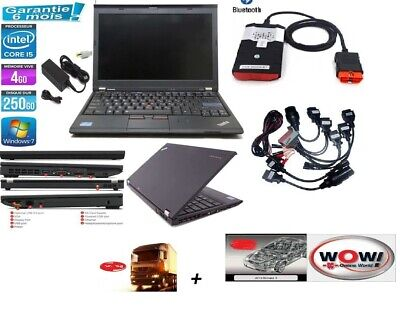 valise de diagnostic professionnelle SSD i5  + kits obd1 obd2
