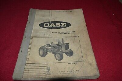 CASE MODEL 34 Backhoe for 680 Construction King Tractor