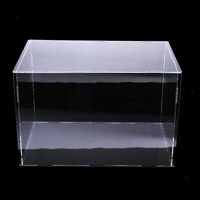 Acrylic Toy Display Show Case Dustproof Box Large Protection Case 40x30x30cm
