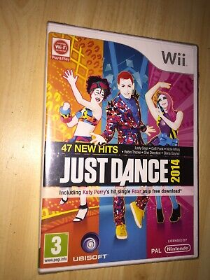 Just Dance 2014 - Nintendo Wii Game 47 Hits - New & Sealed