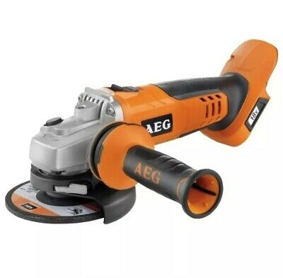 """AEG~18V~115mm~4.5""""~CORDLESS~ANGLE GRINDER~unit only~RRP £109~BRAND NEW"""