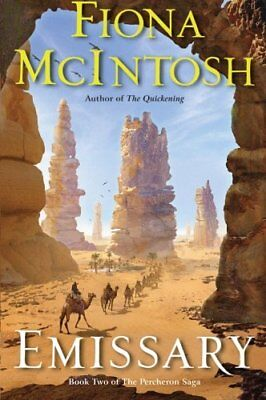 NEW - Emissary: Book Two of The Percheron Saga by McIntosh, Fiona