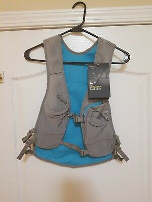 45d5ea23ae NIKE HYDRATION RACE Vest For Running, Size: SM / LX, Black x Red ...