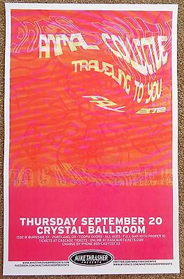 ANIMAL COLLECTIVE 2012 Gig POSTER Portland Oregon Concert