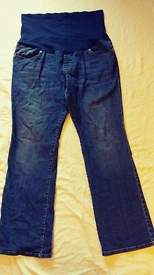 c0e692ed215d5 Liz Lange Maternity For Target Full Panel Boot Cut Jeans Size 16 (#1015)