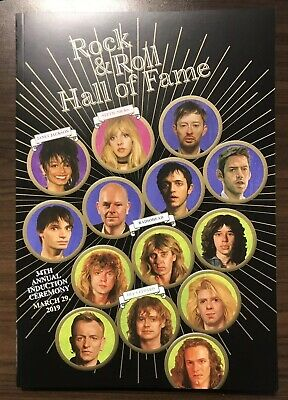 Rock and Roll Hall of Fame 2019 Program