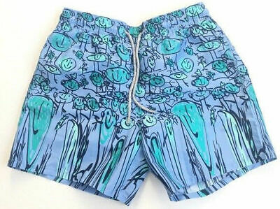 bb08cb62ae Vilebrequin Mens Swim Trunks Shorts Swimsuit Bleu Ciel Size Medium - NWT