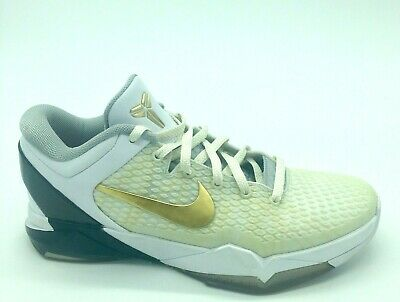 big sale 878fa 19ee6 Nike Kobe Zoom System Elite VII 7 Sz 9.5 Home Playoffs 511371-100 Kobe  Bryant