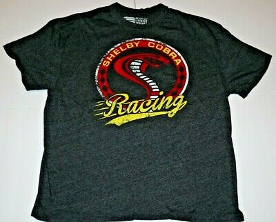 Ford Motors Mustang Shelby Cobra Racing Muscle Car Classic Mens TShirt Size XL
