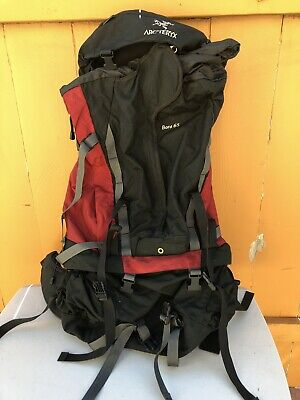 24721bd00ca Arc'Teryx Bora 65 Large Hiking Expedition Backpack (Red and Black) (Men's