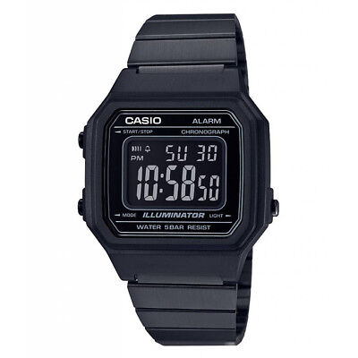 G-Shock Casio B650WB-1BVT (Black) Men's Classic Digital Analog Vintage Watch