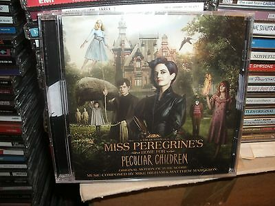 Miss Peregrines Home For Peculiar Children,Tim Burton,Signed By Matthew Margeson