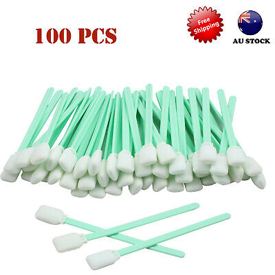 100x Solvent cleaning swabs sponge for waterbased&solvent printhead Mimaki Mutoh