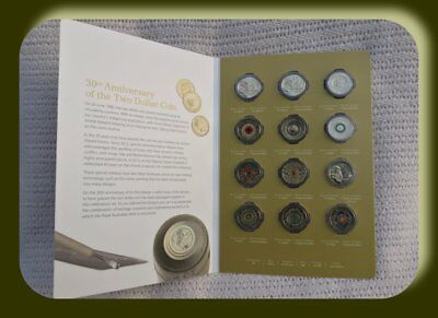 2018 $2 12 coin collection 30th anniversary of the $2 coin 1988-2018