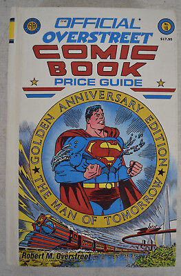 Overstreet Comic Book Price Guide 18 HC 1988 VF NM Superman Neal Adams