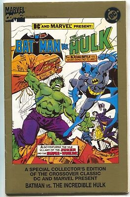 Batman Vs Incredible Hulk 1 Marvel DC 1995 FN VF Gold 2nd Print Joker