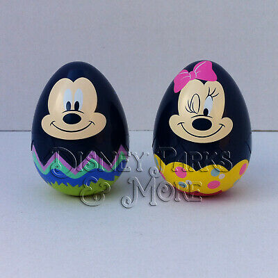 Disney Parks 2019 EGGstravaganza Character Egg Set - Mickey and Minnie Mouse