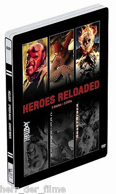 Steelbook: HELLBOY + SPIDER-MAN + GHOST RIDER (NEU+OVP)