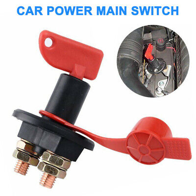 Car Boat Auto Battery Master Power Cut Off Kill Switch Disconnect Isolator 300A