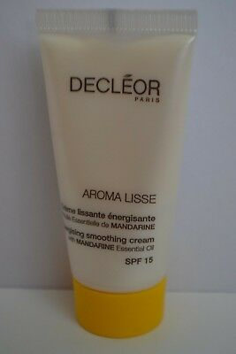 Decleor Aroma Lisse Energising Smoothing Cream SPF15 travel size 15ml