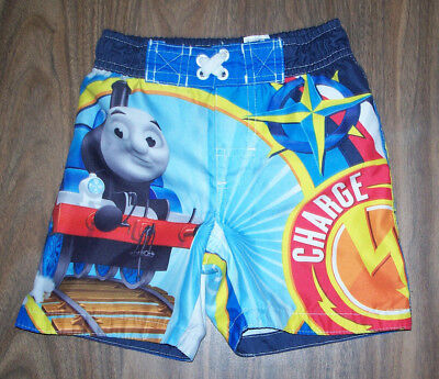 14952fdd6f Thomas The Train & Friends Swimming Trunks Boys size 12 months Swimsuit