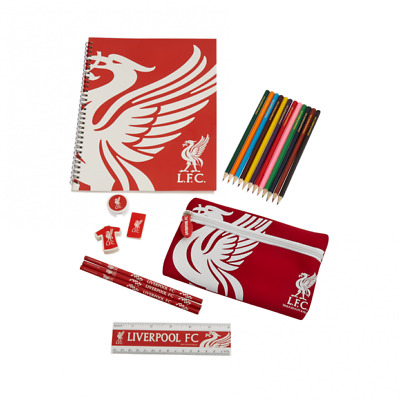 Liverpool Football Club Ultimate Stationery Set - New Official Merchandise