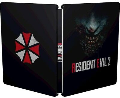 Resident Evil 2 Collectors Edition PS4 Xbox One X Steelbook Case, NEW MINT...