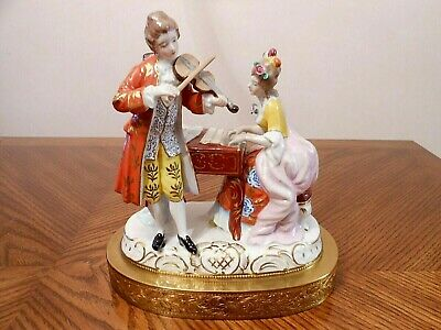 Antique DRESDEN Germany Porcelain Figurine