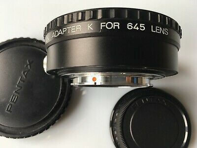 Pentax Adapter K for 645 mount lens (645 to K mount)