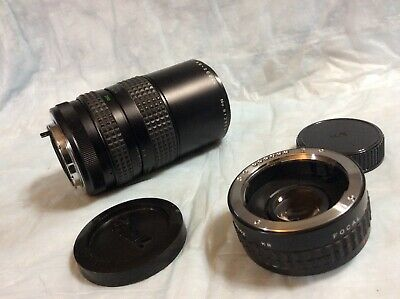 Focal MC Auto Zoom 1:4.5 80-200mm Macro Japan Made With Doubler