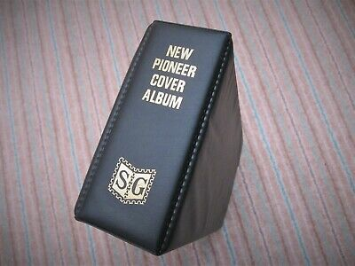 Stanley Gibbons New Pioneer First Day Cover Album Black 2 Ring 20 Sleeves