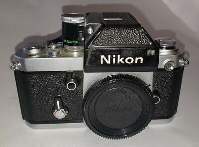 USED NIKON F2 Photomic 35mm SLR Film Camera Body Only (Parts Camera)