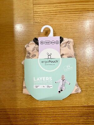 Ergopouch Layers Long Sleeve Sleep Wear 0.2 Tog