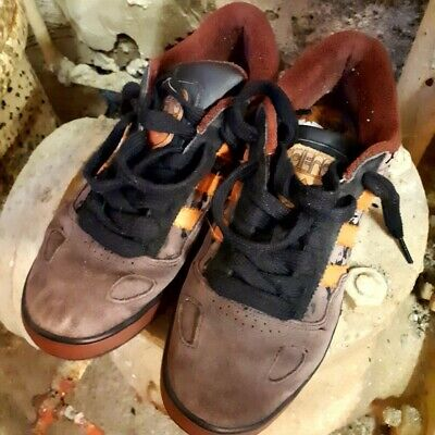 a2951dc1dfeaa adidas ciero trainers in a burnt orange and deep burgundy clean UK size 9